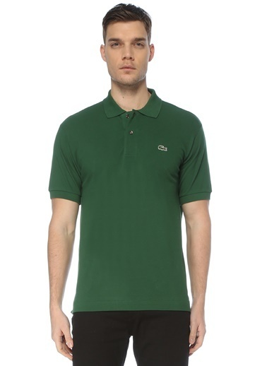Lacoste Lacoste Classic Fit  Polo Yaka T-shirt 101578653 Yeşil